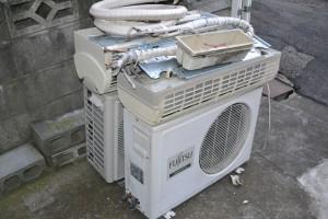 福岡エアコン取り外し、エアコン処分福岡、大分エアコン取り外し、不用品回収、ゴミ回収