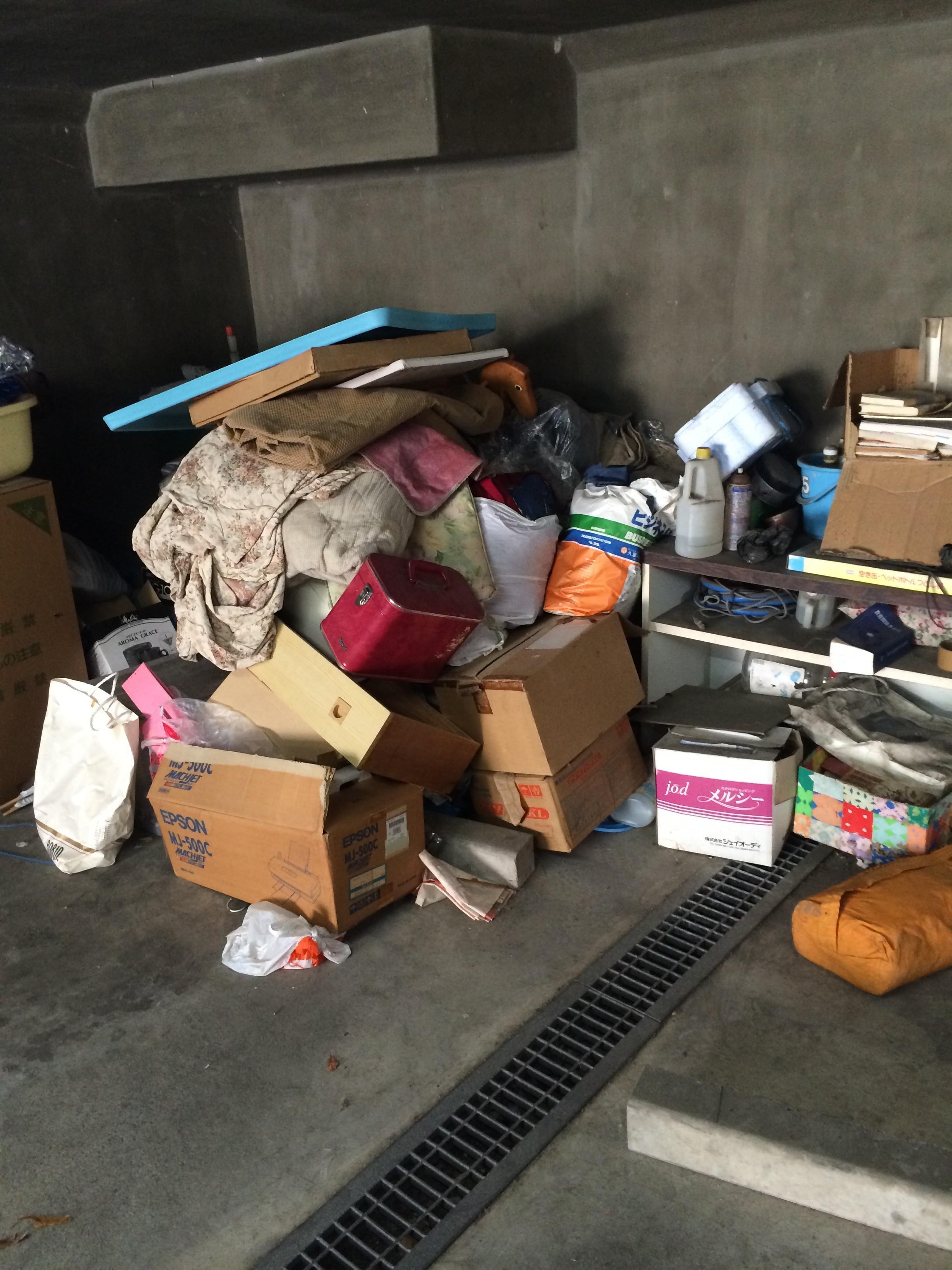 福岡不用品回収、ゴミ回収、実家の片付け、生前整理、空き家の片付け、粗大ゴミ回収