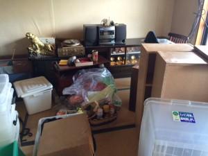 不用品回収、ゴミ回収、実家片付け、親の家の片付け