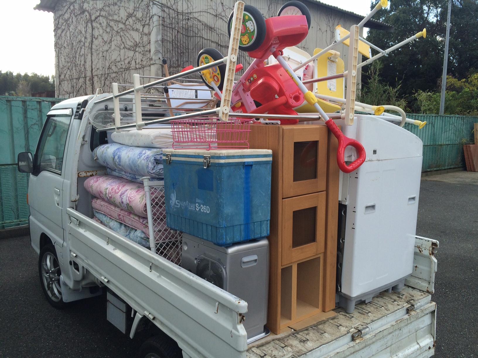 福岡ゴミ回収、福岡不用品回収、引っ越しごみ