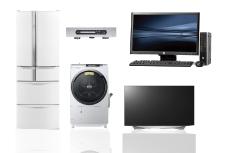 パソコン、洗濯機、テレビ、冷蔵庫、ブルーレイなどの家電の回収はお任せ下さい。