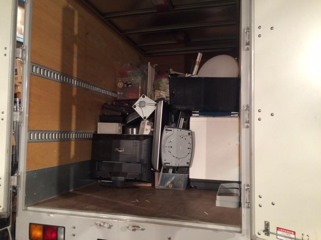 不用品積み放題、不用品・粗大ごみ回収、引越しゴミ、実家の片付け、北九州空き家片付け