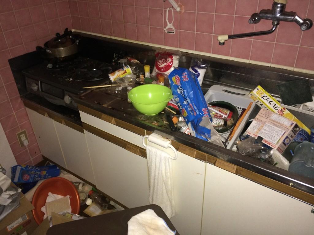 部屋の片付け、ゴミ屋敷、ごみ屋敷、ゴミ回収福岡、粗大ゴミ回収