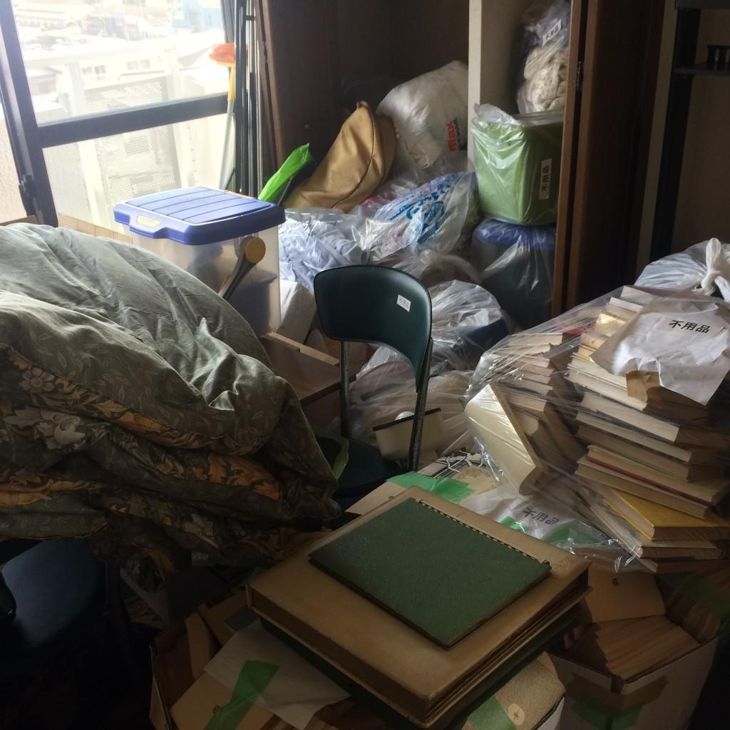 ゴミ屋敷、部屋の片付け、消臭、除菌