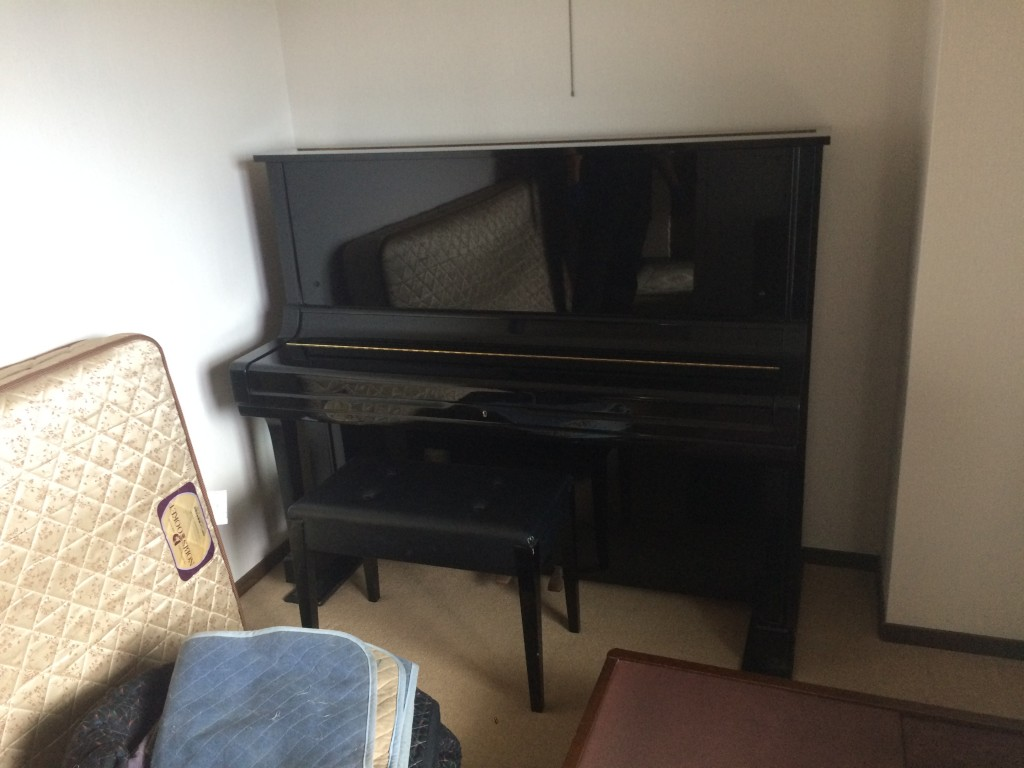 福岡ピアノ、重量物運搬、実家片付け福岡、空家の片付け、遺品整理福岡、部屋の片付け福岡