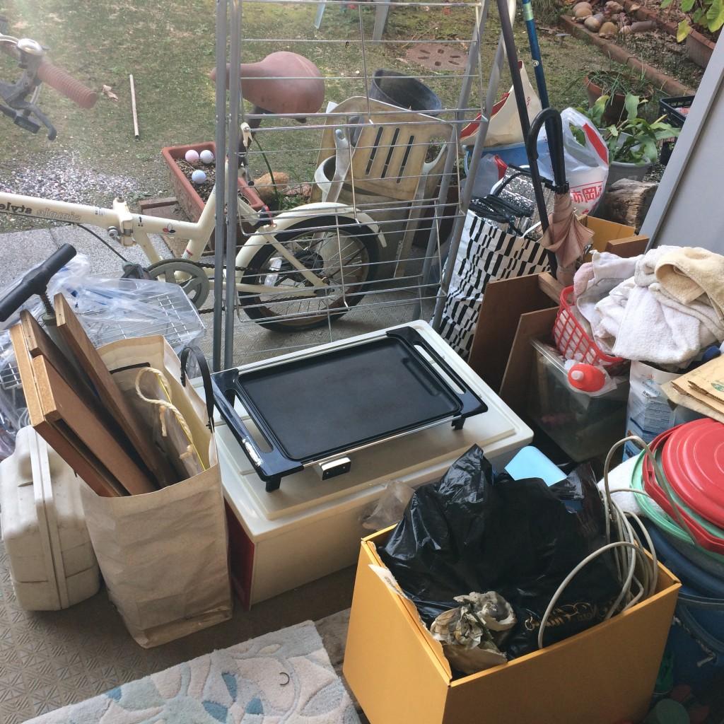不用品回収、実家片付け、ゴミ回収、引っ越しゴミ回収、ゴミ屋敷