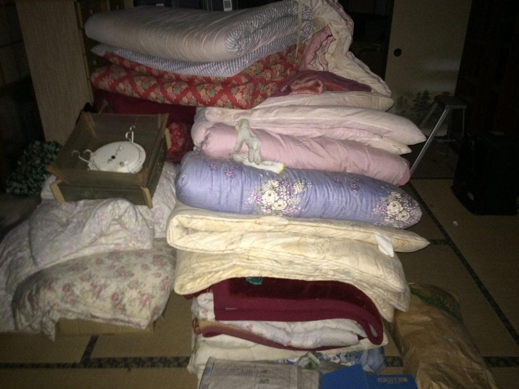 布団回収、粗大ゴミ回収