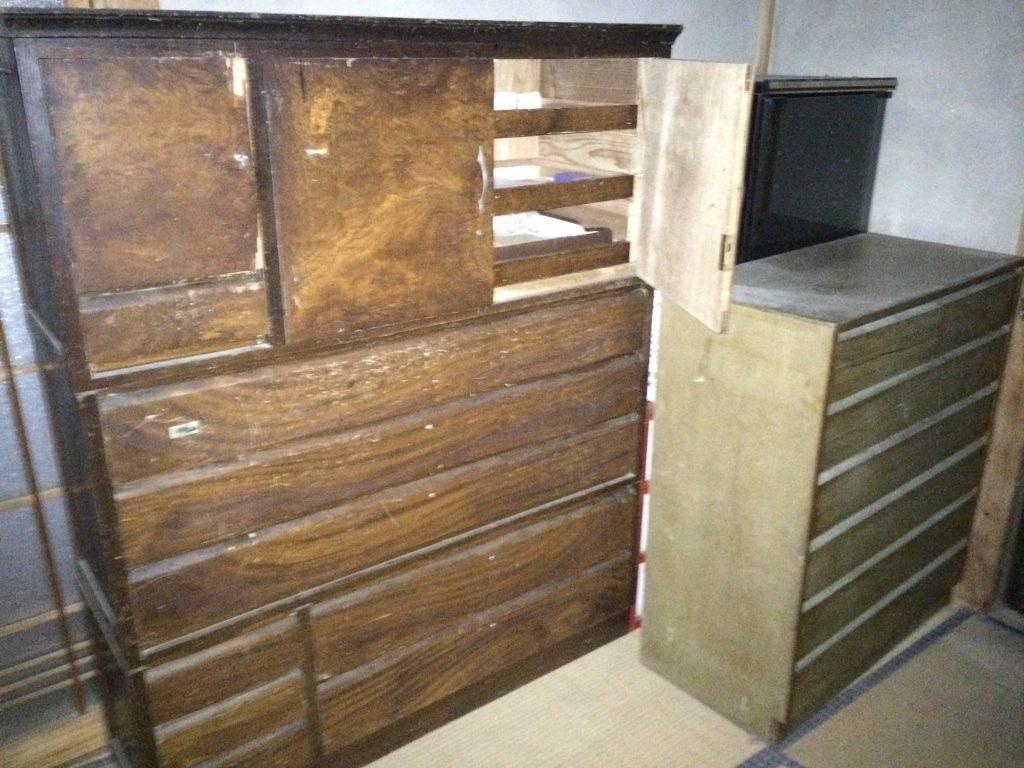 実家片付け、空家の片付け、粗大ゴミ回収、遺品整理、ピアノ回収、電子ピアノ回収、ゴミ回収、引っ越しゴミ回収、