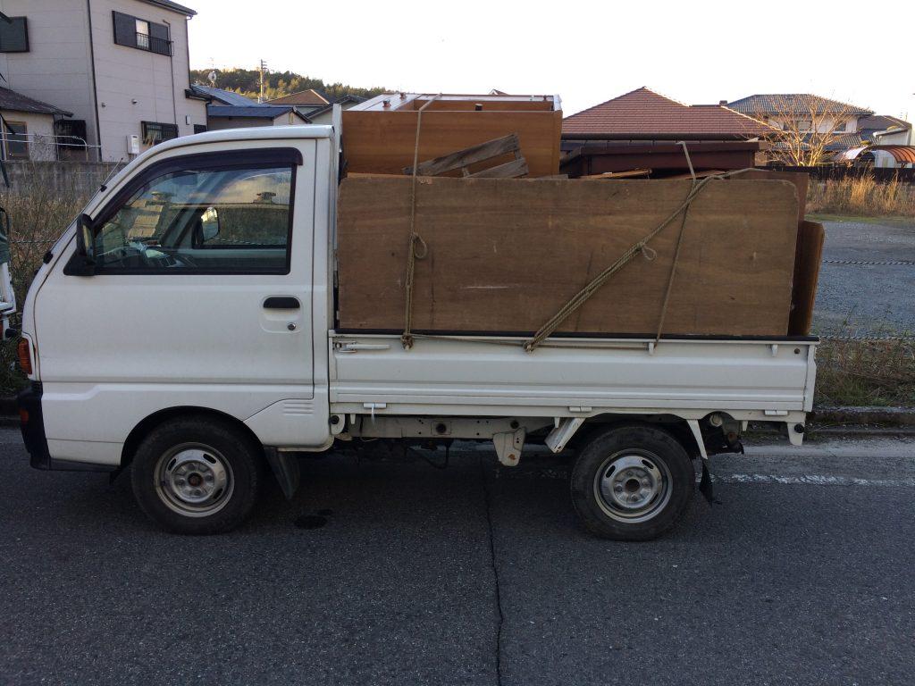 軽トラ積み放題、福岡家具回収、実家片付け