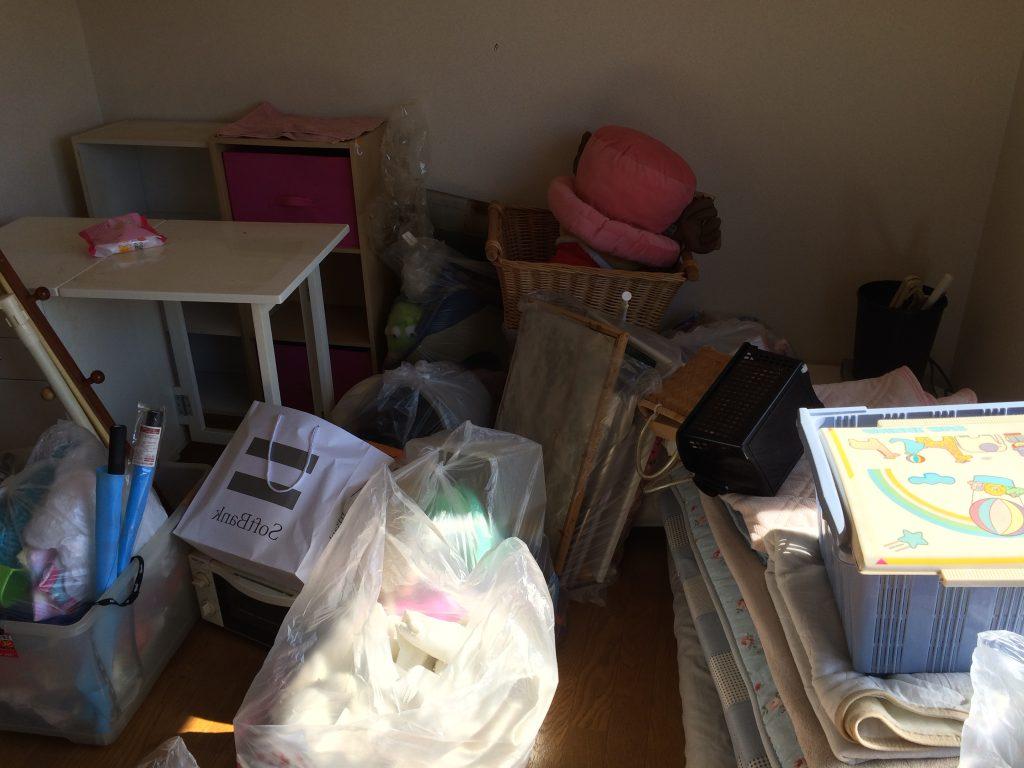 福岡引っ越しゴミ回収、福岡不用品回収、部屋片付け、部屋の片付け、ゴミ屋敷、粗大ゴミ回収、実家片付け、空家片付け、ごみ回収、