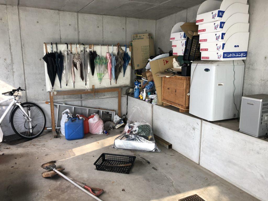 車庫片付け、不用品回収福岡、粗大ゴミ回収福岡