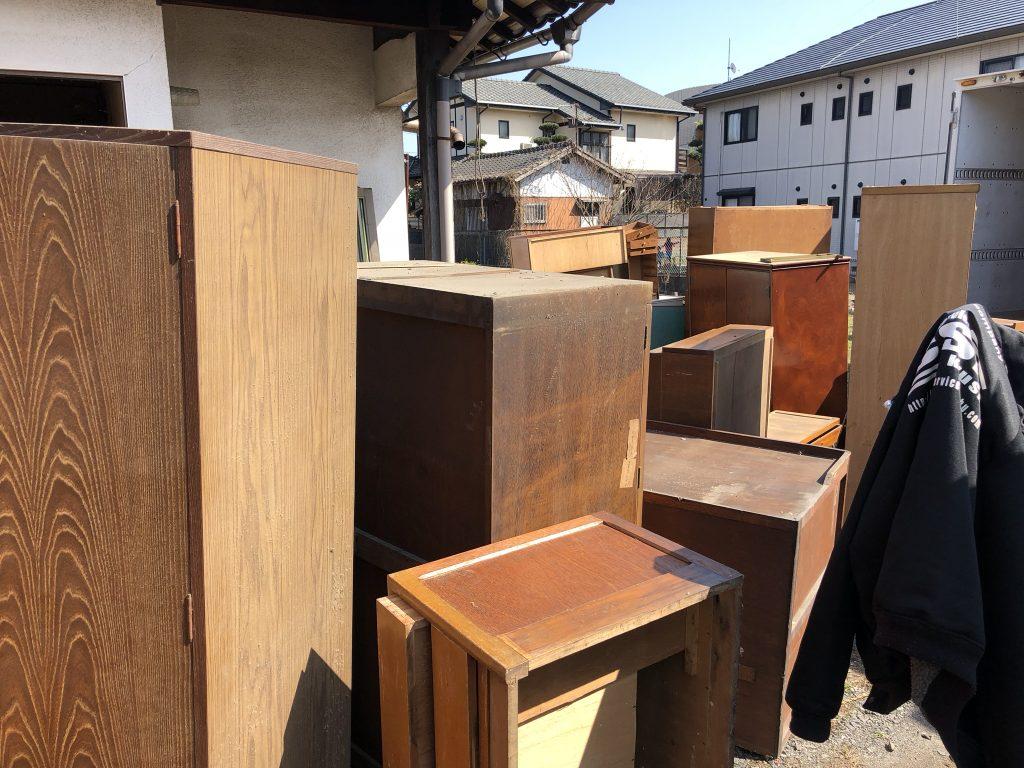 粗大ゴミ回収、不用品回収、引越しゴミ回収、福岡市、久留米市、古賀市