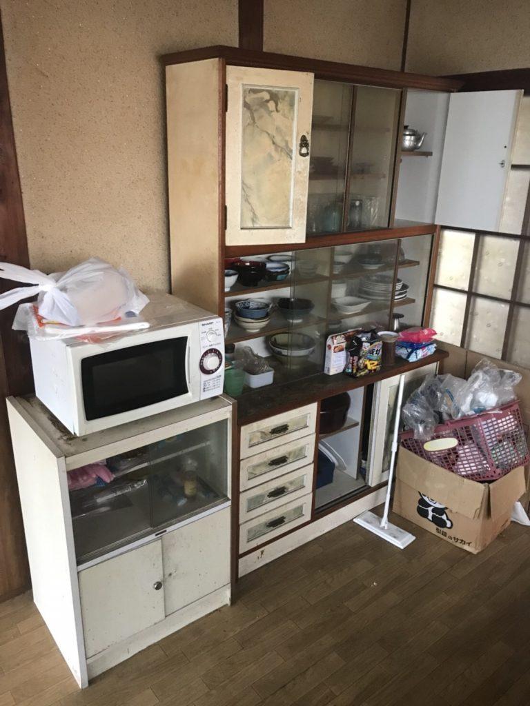 福岡不用品回収、引越しゴミ回収、汚部屋片付け、ゴミ屋敷、部屋の片付け、タンス回収