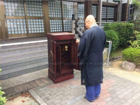 実際の仏壇供養の様子