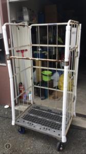 福岡カゴ台車回収、カゴ台車買取り、カゴ台車無料回収、什器ひきとり