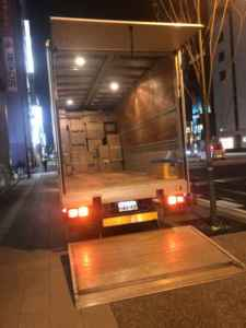 福岡夜間引取り、福岡24時間対応、福岡事務机回収、福岡椅子回収、福岡遺品整理
