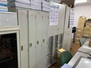 福岡ロッカー回収、福岡事務所片付け、福岡スチール机回収、福岡オフィスチェアー回収