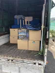 単身引越し、施設へ荷物の移動、施設への引越し、軽トラック詰め放題