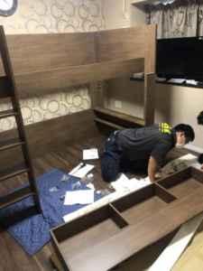 福岡家具組み立て、福岡市家具組み立て、福岡家具回収、福岡家具組み立てサービス、ベット組み立て、机組み立て、洗濯機設置